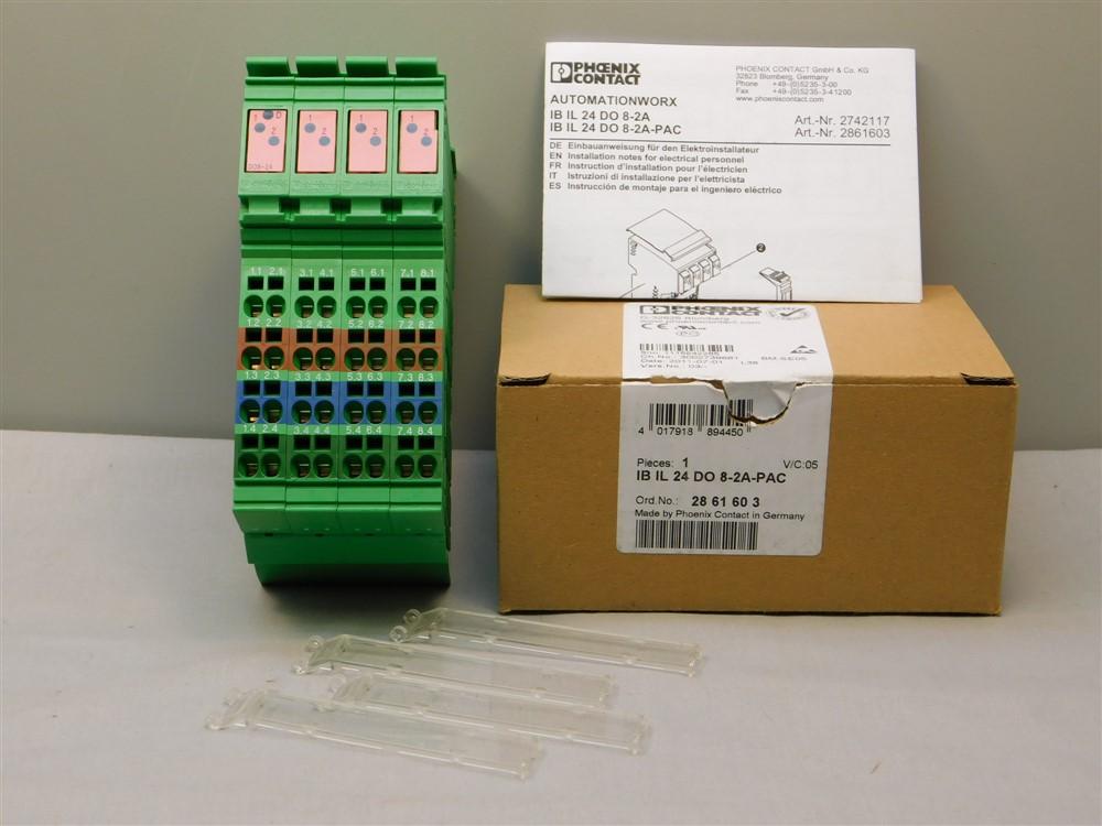 Phoenix Contact IB IL 24 DO 8 Output Terminal Block **XLNT**