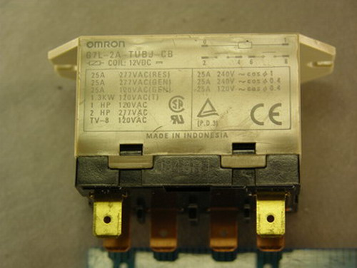 4 omron g7l-2a-tubj-cb, 12v coil general purpose relays